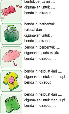Latihan soal bahasa indonesia kelas 1 SD | blognya Ummu Aufa